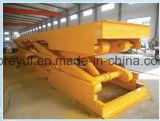 0.1-60 tonne portant la plate-forme de levage fixe de machines lourdes