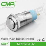 CMP 12mm de Hoge HoofdSchakelaar van de Knoop van het Metaal