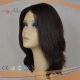 Peluca superior de seda de gama alta del pelo europeo (PPG-l-0888)