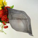 Il di alluminio materiale si leva in piedi in su il sacchetto di imballaggio di plastica