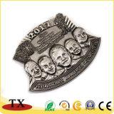 記念品のためのカスタム人間の顔の折りえりPinの有名人のバッジ