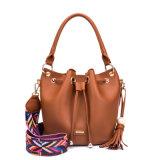 Дизайнер PU Леди дамской сумочке широкий плечевой ремень сумка ковша