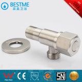 O SUS304 Válvula de ângulo de aço inoxidável com escova Terminado (BMS-G001)