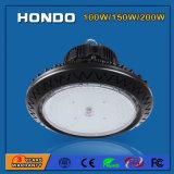 AC85-265V Ra80 PF0.9 150W OVNI High Bay LED Light com 3/5 anos de garantia