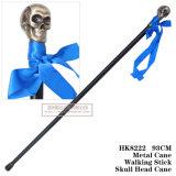 金属の頭骨ヘッド杖の剣の金属の杖93cm HK8222