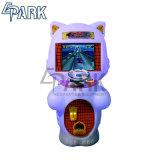 インドの遊園地のカーレースのシミュレーターのゲーム・マシン