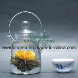 중국 Handmade 예술적인 차, 꽃송이 차, 꽃이 만발하는 차, 주문을 받아서 만들어진 선물 포장 (BT001)를 가진 개화 차 공