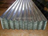 (piatto d'acciaio ondulato galvanizzato 665) millimetri 0.18*762