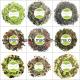De organische Natuurlijke KruidenLever en de Dubbelpunt en de Nier reinigen het Lichaam van de Thee reinigen Thee met Privé Etiket