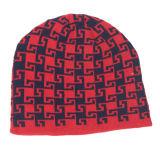 Мужской костюм для женщин и женщин глотать оградить печать трикотажные зимний теплый Beanies толстых Red Hat (HW419)