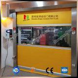 PVC物質的な高速ドア内部の速いシャッタードア