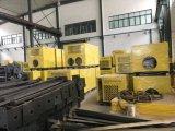 Pulverización automática bombona de gas de la máquina de pintura de acabado de superficies