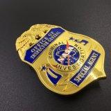 De alta calidad personalizado Bobby Pin distintivo de la policía