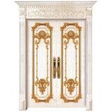 Feste hölzerne Innentür, moderne Art-hölzerne Tür, natürliches Holz furnierte hölzerne Türen