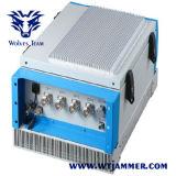 Emittente di disturbo senza fili del segnale della prigione del sistema di VHF di frequenza ultraelevata delle fasce 530W GSM CDMA 3G 4G di controllo 6 (che inceppa fino a 600m)