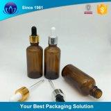 10ml 알루미늄 점적기 장식용 포장을%s 호박색 유리제 정유 병