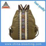Chinesisches Retro Frauen-Drucken-Segeltuch-ethnischer Schultaschen-Freizeit-Beutel
