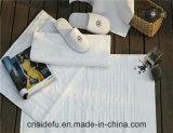 Hete Katoenen van de Handdoek van de Voet van het Bad van de Verkoop Witte 100% Gekamde Badmat