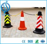 Haltbarer dekorativer Vorsicht-Sicherheit PET Verkehrs-warnende Kettenkette
