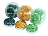 Buliding PlastikMasterbatch gelbe Farbe für Einspritzung oder den Schlag