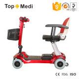 Prix puissant adulte électrique de scooter de mobilité plié par matériel de Hadiccaped