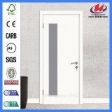 Porta de vidro de madeira do material de construção interior do quarto (JHK-G16)