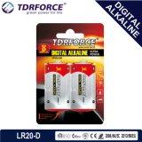 写真フラッシュランプのための保存性7年のの1.5Vデジタル電池Lr20-Dの乾電池