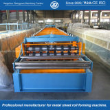 床のDeckingによって転送される金属の屋根ふき機械