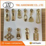 ハンドバッグのアクセサリのための高品質亜鉛合金の金属のジッパーの引き手