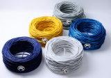 Revestimiento de PVC Cat5e CAT5 CAT6 CAT6e el cable de red LAN