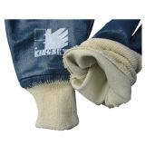 Нитрил полно покрыл работу Glove-5003 вкладыша блокировки хлопка