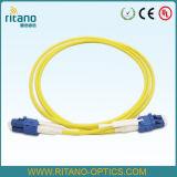LC optische Patchcord met lc-HD Beweegbare Vezel Optische Connector