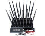 CDMA、GSM、Dcs、PCS、3G、4G、VHF、UHF、GPSのWiFiのシグナルの妨害機16バンド