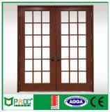 Porta de balanço interior do estilo de Pnoc080226ls com grade