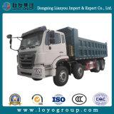 이디오피아 트럭 Sinotruk Hohan 팁 주는 사람 30 톤 371 8X4 또는 덤프 트럭