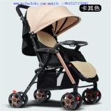 Leichter Baby-Träger, wenn das bewegliche Vierrad Baby gefaltet wird