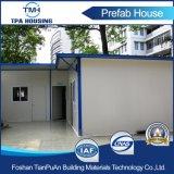Casa prefabricada del marco de acero de una sola planta para el uso de la oficina