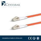 Duplex de 3 metros de cable de fibra óptica multimodo (50/125) LC a LC