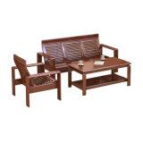 Insieme di qualità superiore del sofà di legno solido