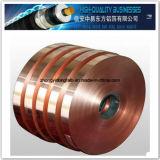 Folha de cobre rolada (fita de mylar do cu-animal de estimação) para o cabo de instrumento