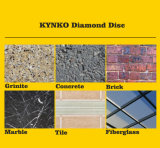 "La piedra filetea "" lámina de corte del diamante 7 para la piedra"
