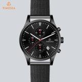 Reloj 72050 del acero inoxidable del OEM del cuarzo de los hombres impermeables del reloj