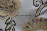 Tipos de tela de tapicería material del telar jacquar de la tela del sofá