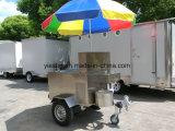 Mobile Straßen-Hotdog-Karren