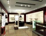 Деревянные стеллажи для выставки товаров одежды одежды Slatwall с вешалками металла