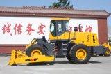 中国の大きい牽引が付いている強い車輪のブルドーザー(HQ220)