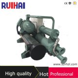 Capacité de refroidissement élevée d'Effeciency 260kw/67ton dans le refroidisseur d'eau de Comprossor de vis de Hanbell d'inducteur de la CAHT