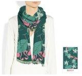 Blumenmuster kundenspezifische Silk Schals