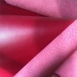 [لش] تصميم أحمر [ميكروفيبر] جلد لأنّ حقائب أحذية
