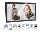 Montagem em parede VESA ou Desktop 27 Polegadas moldura fotográfica digital de tela grande visor (MW-271DPF)